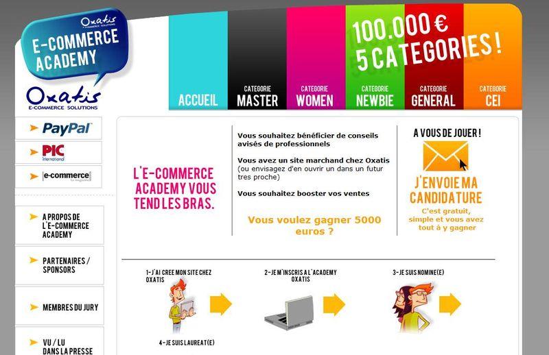 E-commerce-academy-site