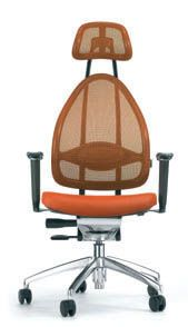 Fauteuil-bureau-ergonomique-orange-Cortex