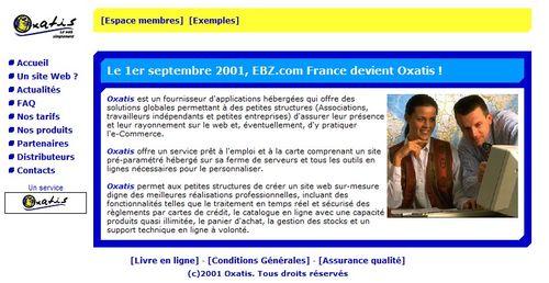 Oxatis 2001