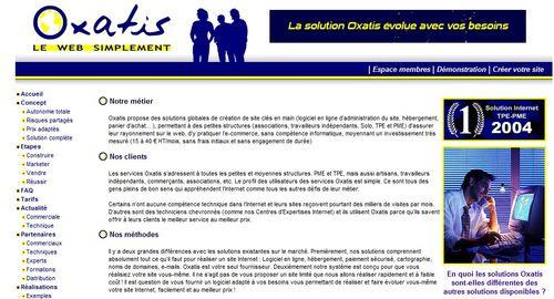 Oxatis 2005