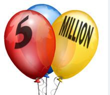 5 Millions