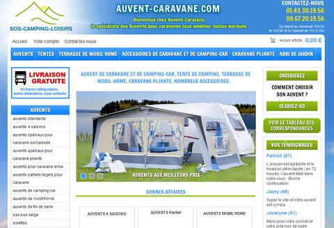 Auvent-caravane