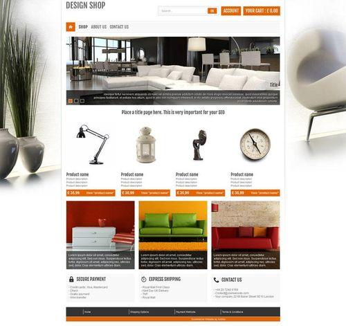 Actualite Presentation Du Template Interior Design Blog