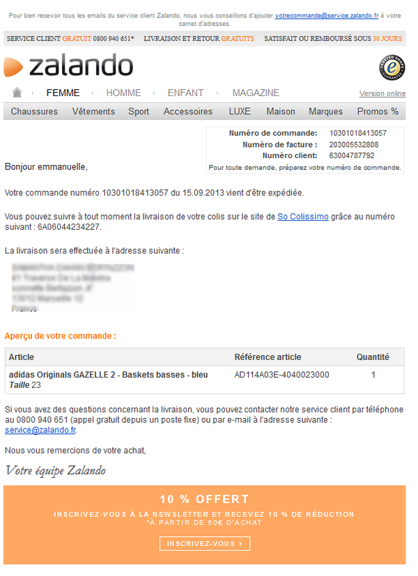 2d40b19ea03 Focus E-Commerce   La livraison