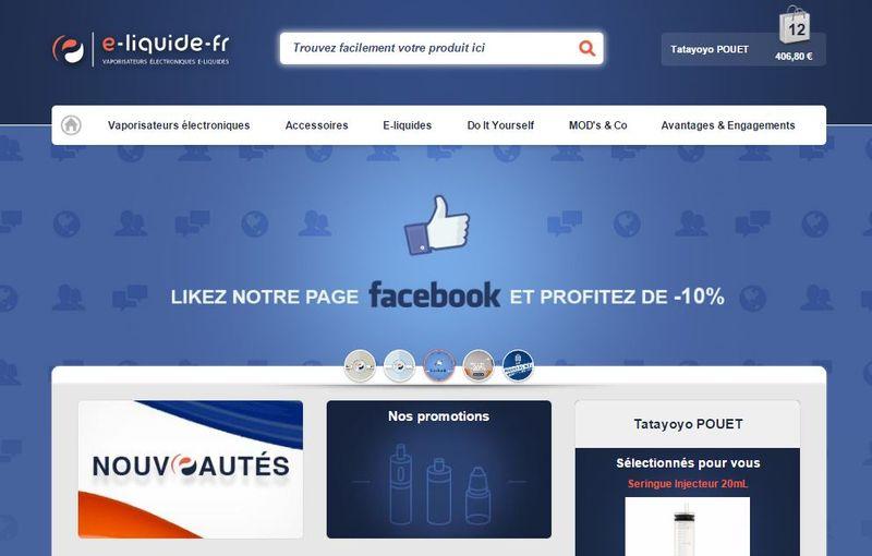 Home page eliquide