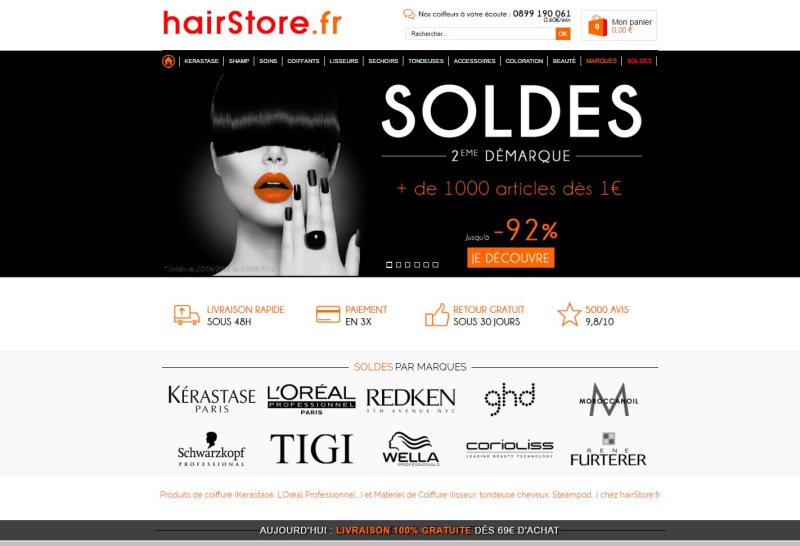 HairStore.fr