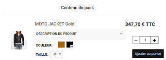 Pack-configurateur