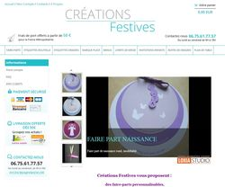 Site-creationsfestives