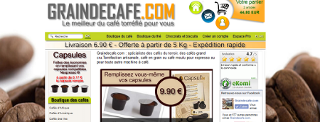 Graindecafe