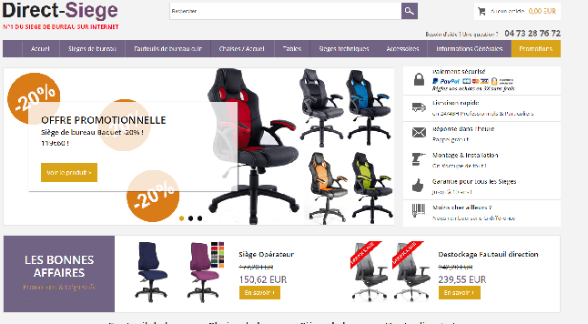 Direct siège