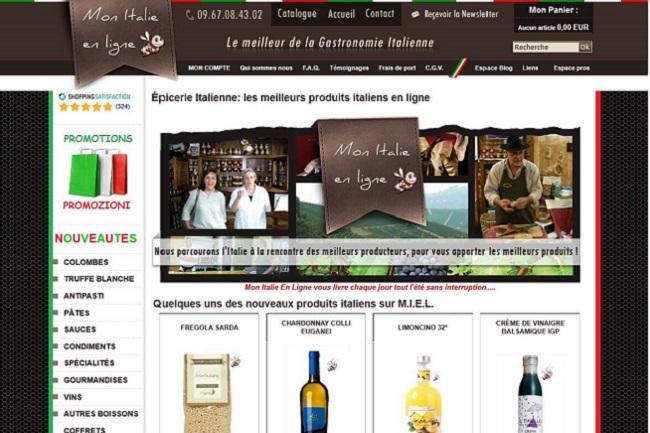 Mon italie en ligne